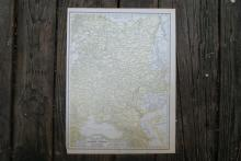 Authentic Vintage 1928 - Russia Map #78032v2