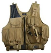 Tan Deluxe Tactical Vest #88512v2