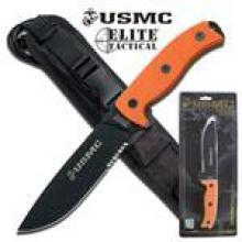 US Marines Semper Fi Thick Fixed Blade Knife Size: 12