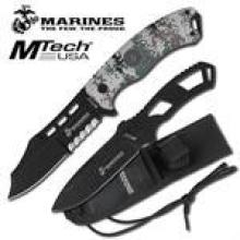 Official Licensed Marines Fixed Blade Knife and Throwing Knife Set #18016v2
