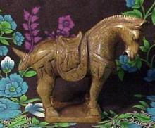 JADE FENG SHUI HORSE #96160v2