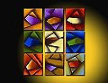 Modern Abstract Art Oil Painting NINE STRETCHED PANELS #79510v2