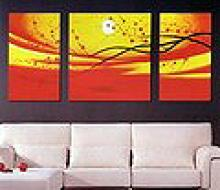 Modern Abstract Art Oil Painting STRETCHED #79517v2