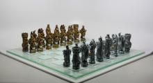 King Arthur Fantasy Chess Set #75897v2