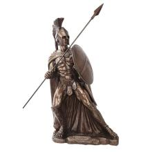 Leonidas Cold Cast Bronze Statue #71199v2