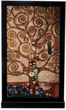 TREE OF LIFE ART GLASS DECORATION #24713v2