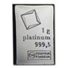 1 gram Platinum Bar - Valcambi #27303v2