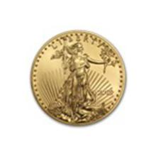 2015 1/2 oz Gold American Eagle BU #27233v2