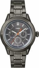 TIMEX MENS MULTI ALL BLACK STEEL WATCH #44621v2