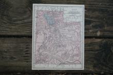 GENIUNE 1930 MAP OF UTAH #70691v2