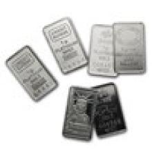 1 gram Platinum Bar - Secondary Market (.999+ Fine) #17820v2