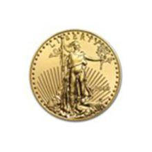 2014 1/10 oz Gold American Eagle BU #27228v2