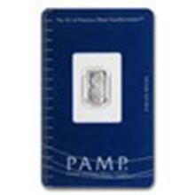 1 gram Platinum Bar - Pamp Suisse #27301v2