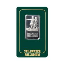 Palladium Bars: One Ounce Stillwater Bar #17886v2