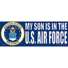 Bumper Sticker - My Son Is In The U.S. Air Force #11432v2