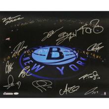 Brooklyn Nets Team Signed  #49439v2