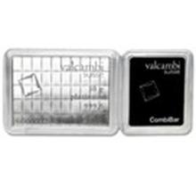50x 1 gram Platinum CombiBar #49583v2