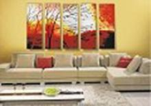 Modern Abstract Art Oil Painting STRETCHED #79520v2