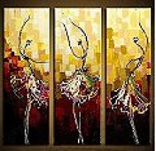Modern Abstract Art Oil Painting STRETCHED #79551v2