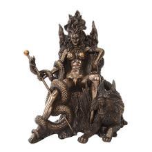 Hel Cold Cast Bronze Statue #71195v2