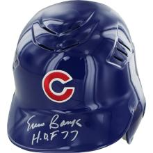 ERNIE BANKS SIGNED AUTHENTIC CUBS HELMET INSCRIBED
