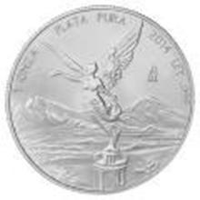 2014 1 oz Mexican Silver Libertad #27531v2
