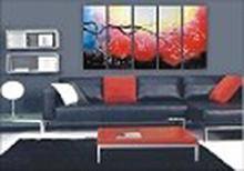 Modern Abstract Art Oil Painting STRETCHED #79527v2
