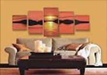 Modern Abstract Art Oil Painting STRETCHED #79466v2