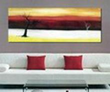 Modern Abstract Art Oil Painting STRETCHED #79459v2