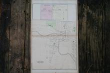 GENUINE AUTHENTIC 1880 MAP OF LANDCASTER NEW YORK #70746v2