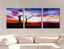 Modern Abstract Art Oil Painting STRETCHED #79547v2