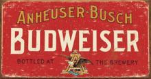 BUDWEISER METAL SIGN #25130v2