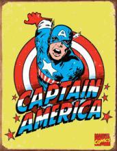 CAPTAIN AMERICA METAL SIGN #25119v2