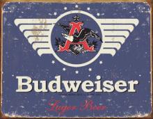 BUDWEISER METAL SIGN #25122v2