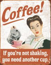 COFFEE METAL SIGN #25125v2