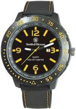 YELLOW/BLACK MEN'S STYLE SMITH & WESSON WATCH #11574v2
