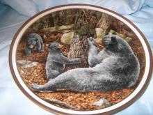 Vintage Lenox American Wildlife Plate Collection Black  #36042v2