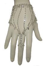 Ring & Bracelet Silver plated set jewelry #90162v2