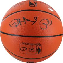 AUTHENTIC PATRICK EWING AUTOGRAPHED BASKETBALL #34744v2