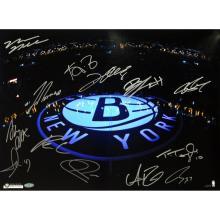 Brooklyn Nets Team Signed  #49440v2