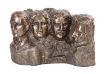Mount Rushmore Cold Cast Bronze Statue #71287v2
