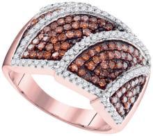 10KT Rose Gold 1.00CTW DIAMOND FASHION RING #68170v2