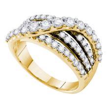 14KT Yellow Gold 1.00CTW DIAMOND FASHION BAND #56449v2