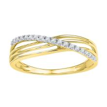 10K Yellow-gold 0.70CT COGNAC DIAMOND FASHION RING #67979v2