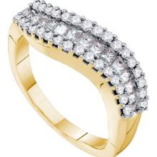 14KT Yellow Gold 0.67CTW DIAMOND INVISIBLE BAND #53564v2