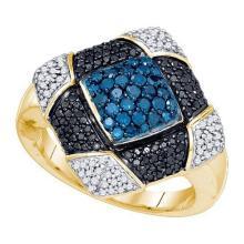 10K Yellow-gold 0.95CTW DIAMOND FASHION RING #59468v2