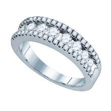 14KT White Gold 1.07CTW DIAMOND FASHION RING #59177v2