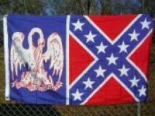 LOUISIANA CSA BATTLE FLAG 3' X 5' #39741v2