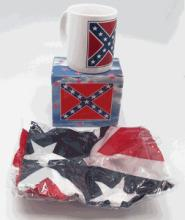 CONFEDERATE GIFT SET (FLAG, MUG) #39780v2