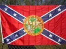 FLORIDA BATTLE FLAG 3' X 5' #35856v2